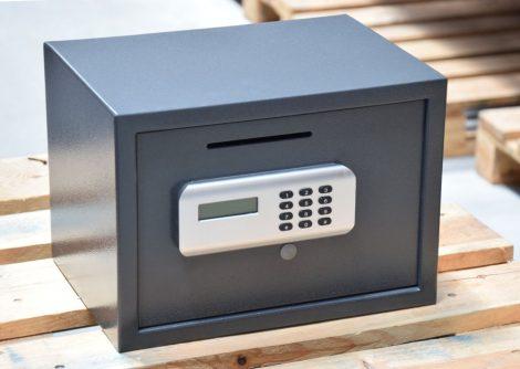 KingSafe - Tabac E bedobónyílásos elektronikus trezor (ELADVA)